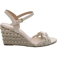53620373840fc Anabela Off White Salto Anabela feminina | Shoes4you