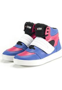 Tênis Sneaker Rock Fit Royal E Pink
