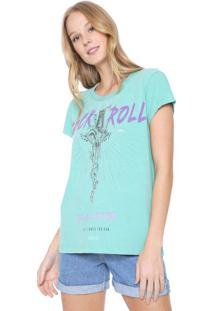 Camiseta Colcci Rock Verde