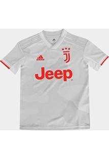 Camisa Juventus Infantil Away 19/20 S/Nº Torcedor Adidas - Masculino