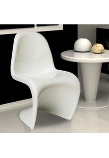 Cadeira De Jantar Panton Branca