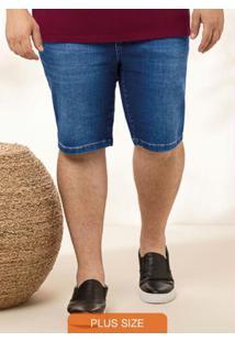 Bermuda Azul Escuro Tradicional Jeans
