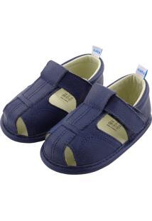 Sandália Catz Luky Azul Marinho - Kanui