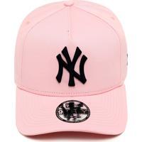 708df684d Boné New Era Snapback New York Yankees Rosa