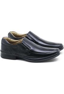 Sapato Social Rafarillo Couro Mogno Masculino Pret