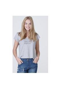 Camiseta Feminina Mirat Vamos A La Playa Mescla