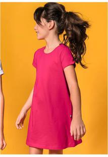 Vestido Básico Infantil Menina Hering Kids