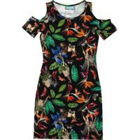 fc231e781 Vestido Floral Preto infantil | Shoes4you