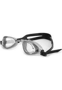Óculos De Natação Adidas Persistar Fitness - Unissex-Cinza+Preto