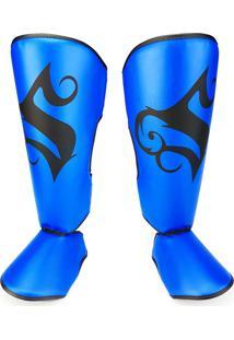 Caneleira Spank Pro Azul Nacional
