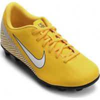 Chuteira Infantil Campo Nike Mercurial Vapor Xii Neymar b4bbea78ed71c