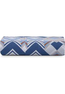 Lençol Superior Casal Altenburg Home Collection 180 Fios Cuban - Azul