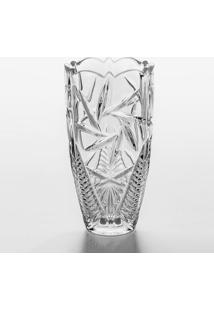 Vaso Bojudo Pinwheel- Cristal- 30Xø10Cm- Rojemacrojemac