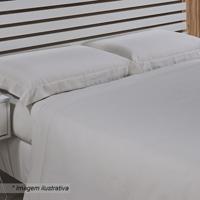 8f07e0bf33 Jogo De Cama Hotel Queen Size- Off White- 4Pçs- Niazitex
