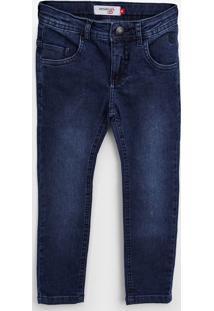 Calça Jeans Reserva Mini Infantil Estonada Azul