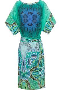 Vestido Vitral - Verde