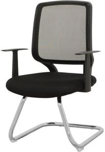 Cadeira Avila Fixa Preta 93 Cm (Alt) - 43438 Sun House