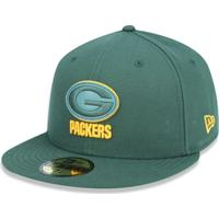 Boné 5950 Green Bay Packers Nfl Aba Reta New Era - Masculino-Verde 33337add610