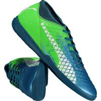 c19f769a00 Chuteira Puma Future 18.4 It Futsal Verde