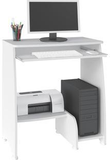 Mesa Para Computador Artely Pixel Com Prateleira Para Teclado - Bra.