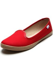Slipper Beira Rio Color Vermelho