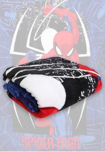 Cobertor Solteiro Lepper Spider Man Estampado 1,50 X 2,20 - Estampado - Menino - Dafiti