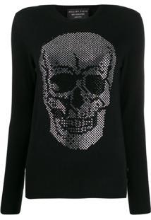 Philipp Plein Skull Pullover - Preto