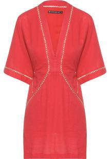Vestido Solid Joanna - Vermelho