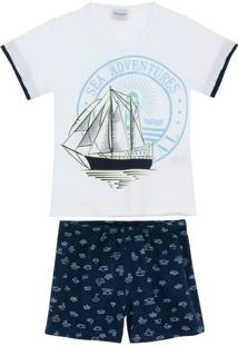 Pijama Infantil Masculino Lua Encantada Caravela
