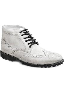 Bota Dress Boot Masculina Sandro Moscoloni Usa - Masculino-Branco