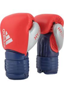 Luva De Boxe Adidas Hybrid 300 Couro - Unissex