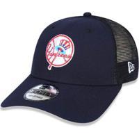 fae2ccbeabff5 Boné New York Yankees 940 Trucker Patch - New Era - Unissex