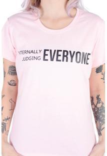 Camiseta Rosa Judging (, Gg)