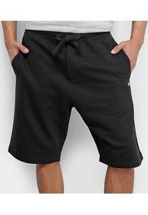 Bermuda Tommy Jeans Classics Sweatshort Masculino - Masculino-Preto