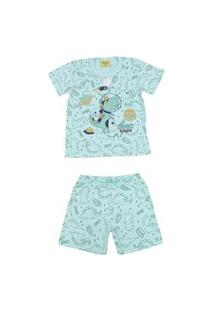 Pijama Curto Brilha No Escuro Rolú