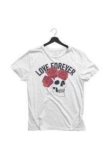 Camiseta Jay Jay Básica Love Forever Branca Dtg