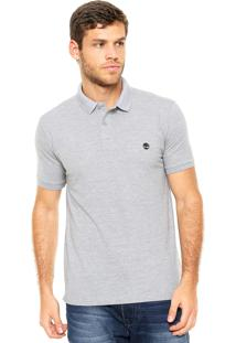 3278944020 Camisa Polo Timberland Millers Cinza
