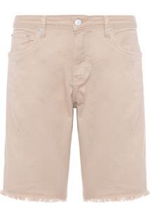 Bermuda Masculina Color Five Pockets - Bege