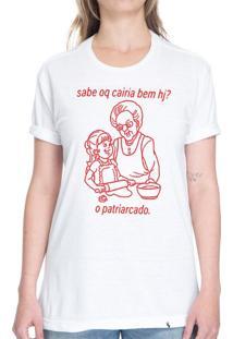 Sabe Oq Cairia Bem Hj? - Camiseta Basicona Unissex