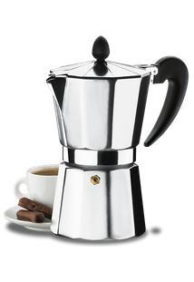 Cafeteira Alumínio 6 Xícaras - Verona 300 Ml - Brinox
