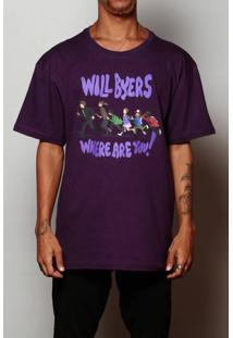 Camiseta Will Byers Where Are You?