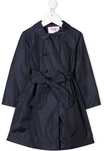 Il Gufo Double Breasted Coat - Azul