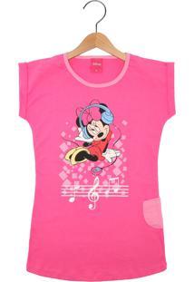 Camisola Lupo Disney Minnie Rosa