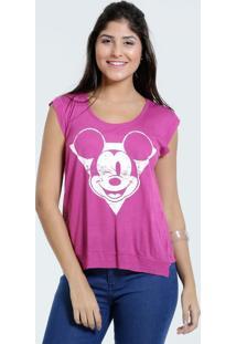 Blusa Feminina Estampa Mickey Sem Mangas Marisa