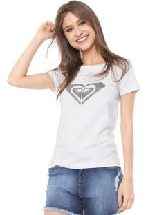 Camiseta Roxy Dear Wave Branca