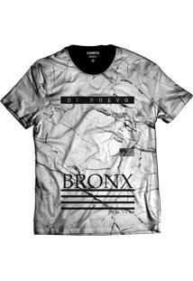 Camisa Di Nuevo New York Bronx Branca