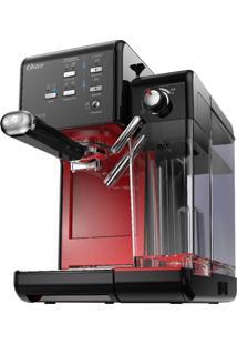 Cafeteira Oster Primalatte Evolution 127V Preta E Vermelha 1170W E 19