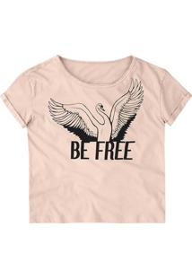 Camiseta Dzarm Rosa