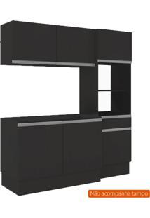 Cozinha Compacta Dion 6 Pt 1 Gv Preta
