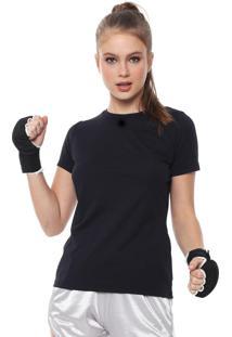 Camiseta Alto Giro Recorte Preta